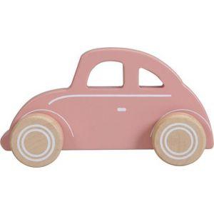 Houten Auto Little Dutch Pink