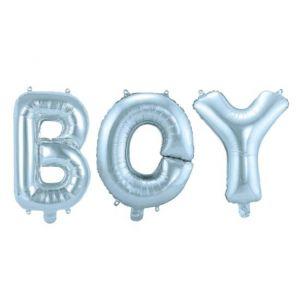 Ballonletters Baby Boy Blauw