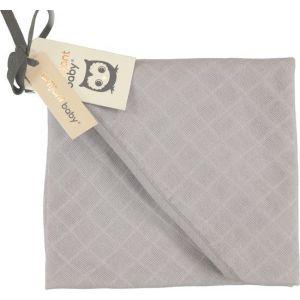 Badcape Hydrofiel Briljant Baby Uni Mid Grey