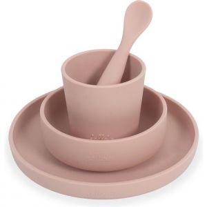 Dinerset Jollein Siliconen Pale Pink