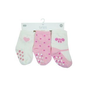 Set | Sokjes Antislip Olay Baby Pink 6-12mnd