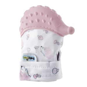 Baby Bijthandschoen BabyJem Pink