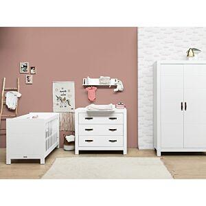 Babykamer Bopita Lucca (2-deurs) incl. Matras en Wandrek