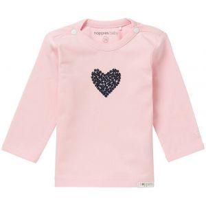 NOPPIES Shirt Lange Mouw Girls Natick Rose | Voorzijde