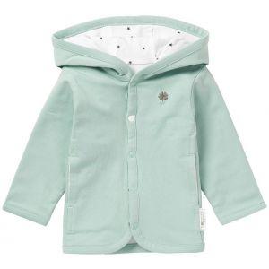 NOPPIES Vest Uni Nusco Mint | Effen Voorzijde