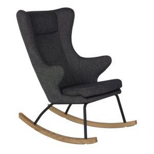 Schommelstoel Quax Rocking Chair de Luxe Black