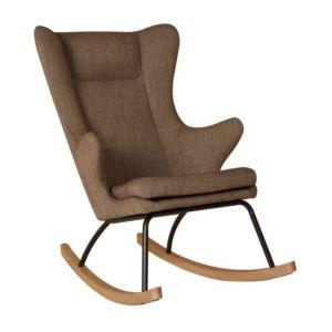 Schommelstoel Quax Rocking Chair de Luxe Latte