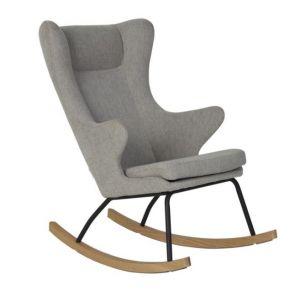 Schommelstoel Quax Rocking Chair de Luxe Sand Grey