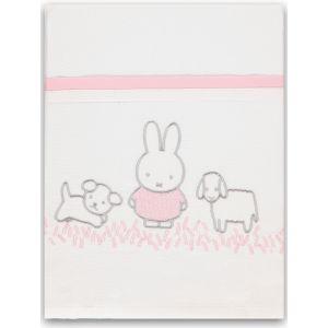 Laken Wieg Briljant Baby Nijntje Grass Pink