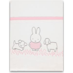 Laken Ledikant Briljant Baby Nijntje Grass Pink