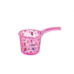 Badschepje Babyjem Fish Transparant Pink