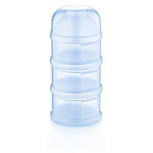 Melkpoedercontainer Babyjem 4-laags Blauw