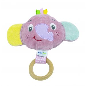 Speeltje Babyjem Little Elephant Toy 702 Pink