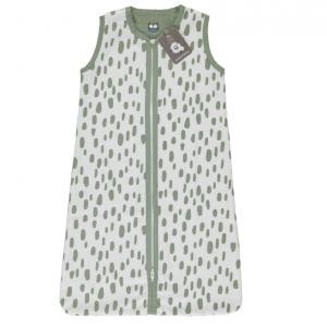 Slaapzak Zomer Briljant Baby Minimal Dots White/Oil Green