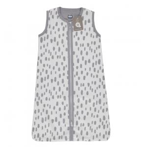 Slaapzak Zomer Briljant Baby Minimal Dots White/Grey 110cm