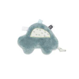 Knuffeldoekje Snoozebaby Cas Car Gray Mist