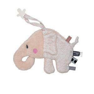Knuffeldoekje Snoozebaby Elly Elephant Orchid Blush