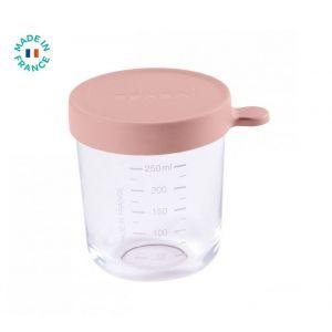 Bewaarpotje Glas Béaba 250ml Roze