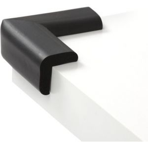 Jippie's Tafelhoekjes 4st Foam Zwart