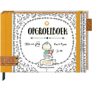 Opgroeiboek - O'Baby Pauline Oud