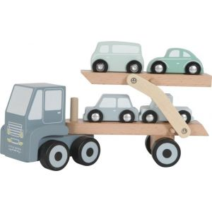 Little Dutch Houten Transportwagen 1
