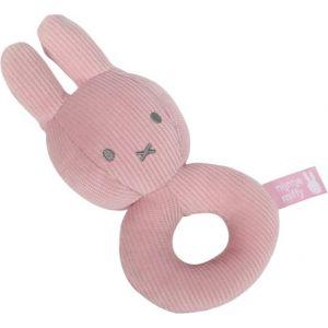 Rammelaar Tiamo Nijntje Pink Baby Rib