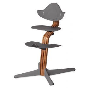 Kinderstoel Nomi Oak Natural + Grey Zitting