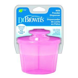 Dr. Brown's Melkpoeder Dispenser Roze