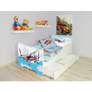 Kleuterbed Top Beds Happy 160x80 Vliegtuig Incl. Matras + Bedlade