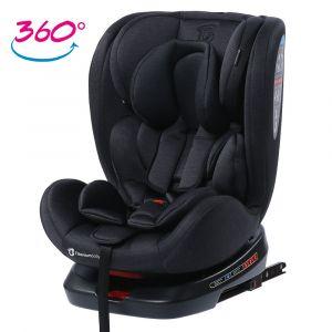 Autostoel Titanium Baby Kai 360° 0-1-2-3 ISOFIX Black nu met Gratis Accessoires