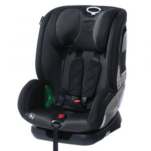 Autostoel Titanium Baby Raptor 1-2-3 ISOFIX I-Size Black + Gratis Achterbankspiegel
