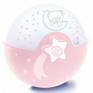 B-kids Nachtlamp & Projector Pink
