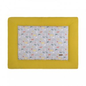 Boxkleed Baby's Only Forest 75x95 Mustard
