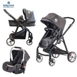Kinderwagen Prestige Travel Babycare BC650 Black + Autostoel