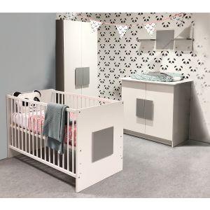 Babykamer Amber Ledikant + Commode