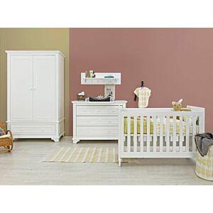 Babykamer Bopita Charlotte (2-deurs) incl. Matras en Wandrek