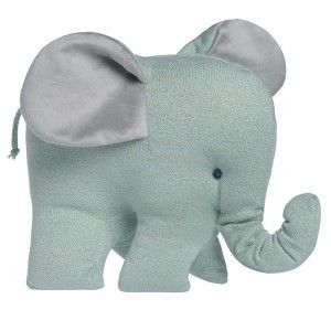 Baby's Only Knuffel Olifant Sparkle Goud-Mint