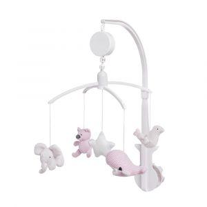 Muziekmobiel Toys Baby's Only Classic Roze/Baby Roze/Wit