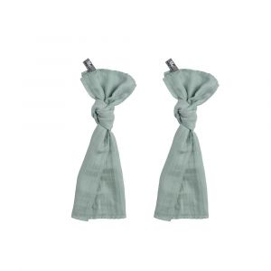 Swaddle Doek Baby's Only 70x70cm Mint 2st.