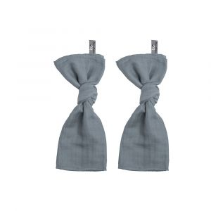 Swaddle Doek Baby's Only 60x70cm Stone Green 2st.