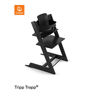 Kinderstoel Stokke® Tripp Trapp® Black + Babyset