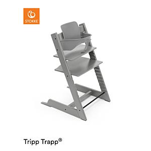 Kinderstoel Stokke® Tripp Trapp® Storm Grey + Babyset