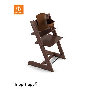 Kinderstoel Stokke® Tripp Trapp® Walnut Brown + Babyset