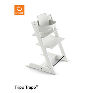 Kinderstoel Stokke® Tripp Trapp® White + Babyset