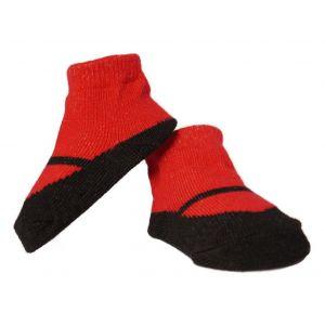 Twingles sokjes zwart/rood