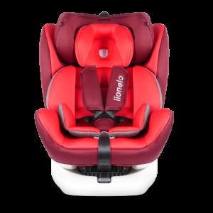Autostoel Lionelo Bastiaan 0-1-2-3 ISOFIX Red 360°
