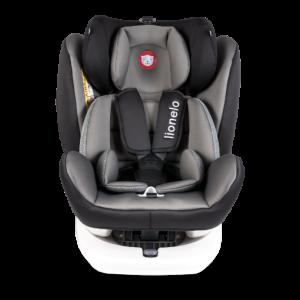 Autostoel Lionelo Bastiaan 0-1-2-3 Isofix Grey 360°