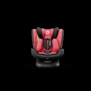Autostoel Lionelo Bastiaan One Red Chili 0-1-2-3 ISOFIX 360°