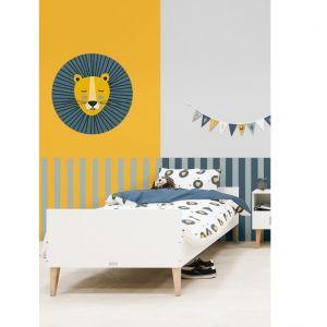 Bed Bopita Indy 90x200 Wit/Naturel
