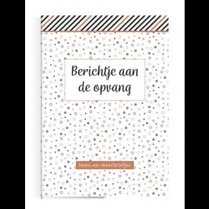 Boek Deltas Uitgeverij - Berichtje aan de opvang